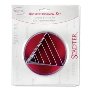 Dreiecke Set 6 Teile, 3 bis 8,5 cm
