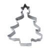 Tannenbaum mit Stern Ausstecher 10 cm