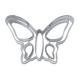 Schmetterling mit Muster Prägeausstecher 7 cm