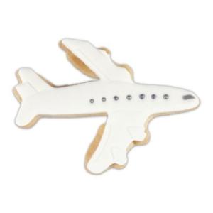 Flugzeug Prägeausstecher 8 cm