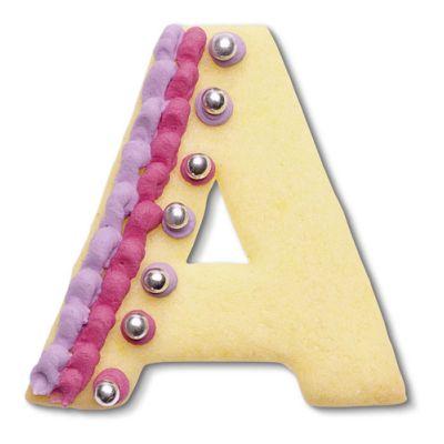 A Buchstabenausstecher  6-7 cm hoch