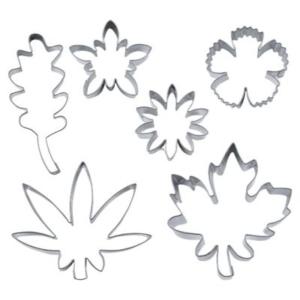 Blüten und Blätter Set 6 Teile