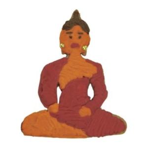 Buddha Prägeausstecher 7,5 cm
