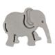 Elefant Prägeausstecher 5 cm