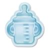 Babyflasche Prägeausstecher 5 cm