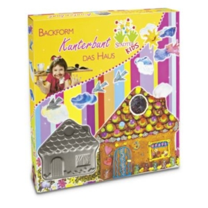KIDS Backform Kunterbunt das Haus