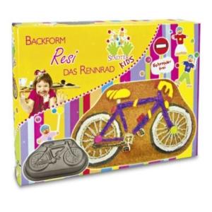 Motivbackform Resi das Rennrad