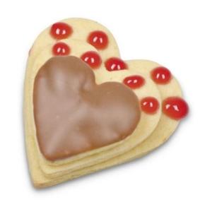 Herz glatt groß Ausstecher 4, 5, 6 cm