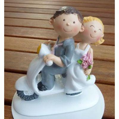 Brautpaar - auf Vespa