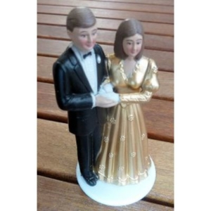 Brautpaar - Goldhochzeit