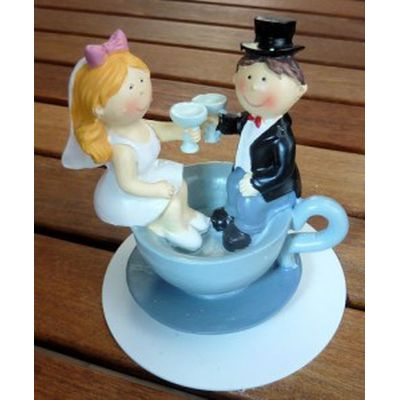 Brautpaar - in Tasse