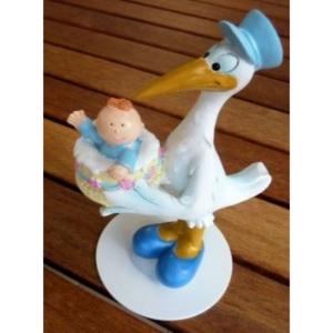 Taufe - Storch mit Junge