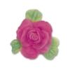 Deko Flex Model Rose mit Blättern