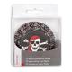 Papier-Backförmchen Pirat – 50 Stück