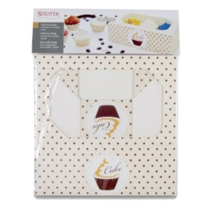Muffin- & CupcakeboxSwing – 6er – Set, 2-teilig