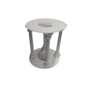 Miet-Seitenpodest mit Säulen 35 cm Durchmesser