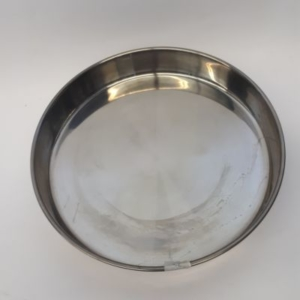 Miet-Backform Rundform Metall 32 cm glänzend