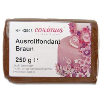 Ausrollfondant Braun 250 g