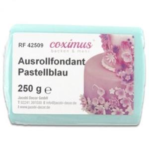 Ausrollfondant Pastellblau 250 g