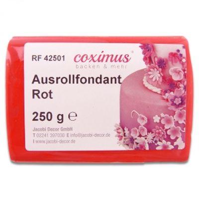 Ausrollfondant Rot 250 g