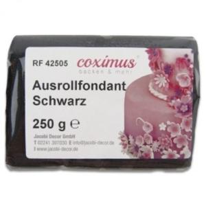 Ausrollfondant Schwarz 250 g