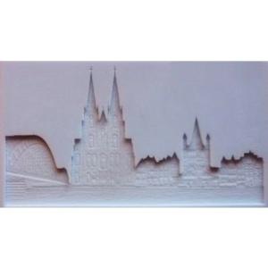 Skyline Köln 12 x 21 cm