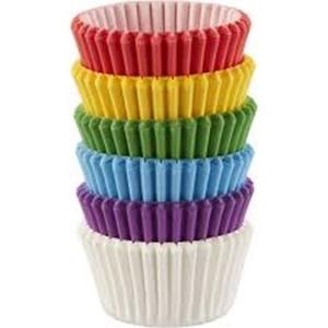 Rainbow Cupcakes - 150 Stück