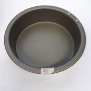Miet-Backform Rundform Antihaft 20 cm