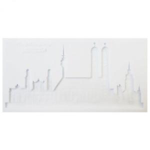 Skyline München 20 x 9,5 cm