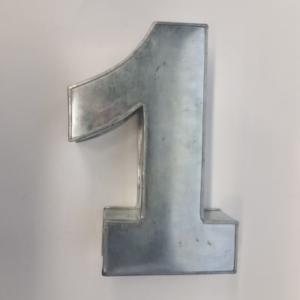 Miet-Zahlenbackform Riesen Ziffer 1 - 35cm