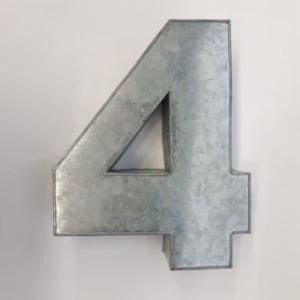 Miet-Zahlenbackform Riesen Ziffer 4 - 35cm