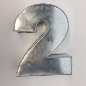 Miet-Zahlenbackform  Ziffer 2 - 25cm