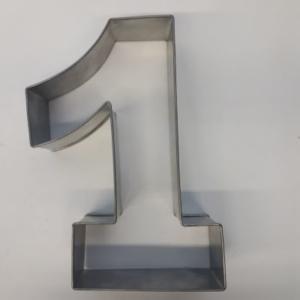 Miet-Zahlenbackrahmen Riesen Ziffer 1 - 35cm
