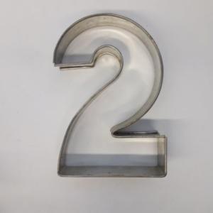 Miet-Zahlenbackrahmen Ziffer 2 - 25cm